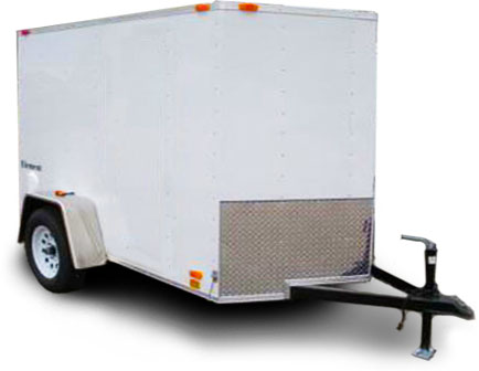 Enclosed Cargo Trailers Cheap Starting At 1495 Nationwide Warranty