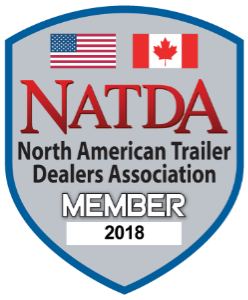Proud member of the North American Trailer Dealers Association