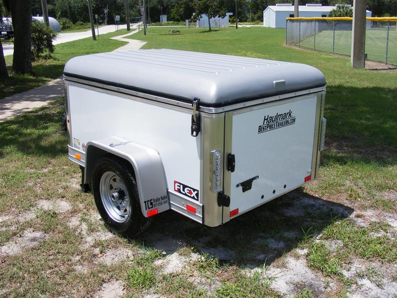 4x6 Enclosed Trailer >> Haulmark 4x6 Enclosed Single Axle Cargo Trailer