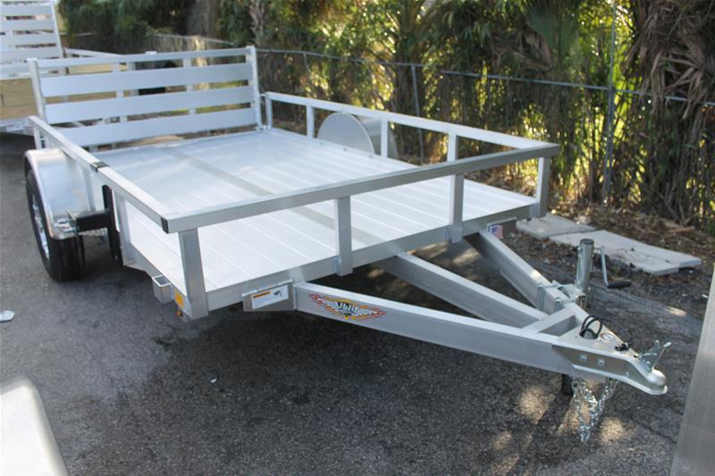 Aluminum trailers utility