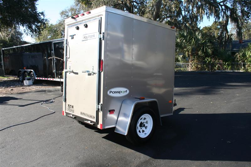 4x6 Enclosed Trailer >> 4x6 Enclosed Cargo Trailer By Haulmark For Sale