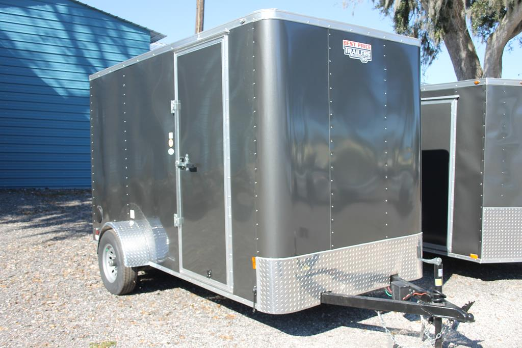 12ft Cargo Trailer with 5200lb Axle image 1