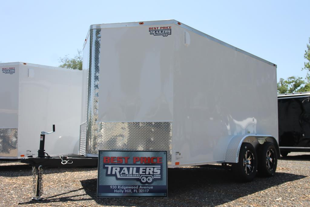 12ft Enclosed Trailer with Brakes image 1