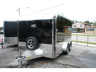 2012 ATC Enclosed Aluminum T/A Motorcycle Trailer