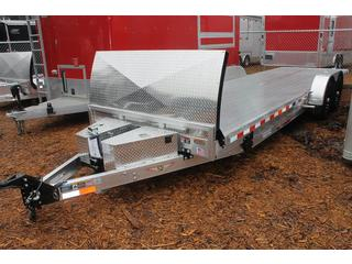 Aluminum Car Hauler with Tilt Bed