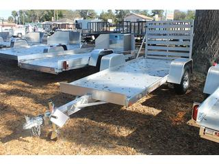 Aluminum Utility Trailer with Ramp Gate