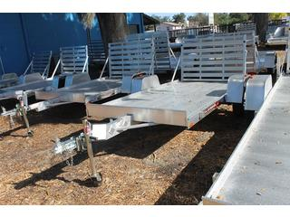 Aluminum Utility Trailer with Tie Downs