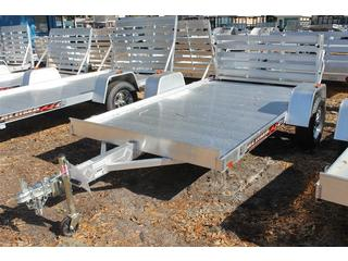 Aluminum Utility Trailer with Bi-Fold Gate
