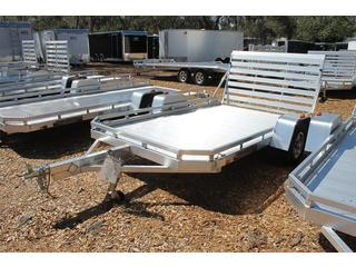 Aluminum Utility Trailer with LED Lights