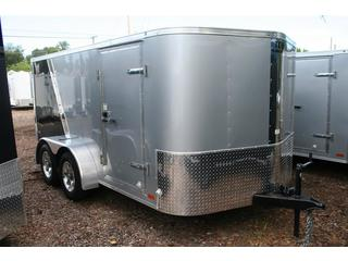 2011 Cargo Mate Enclosed T/A Motorcycle Trailer