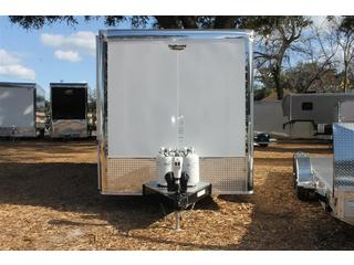 Toy Hauler with Awning
