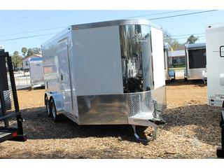 Motorcycle Trailer with Wardrobe and Cabinets