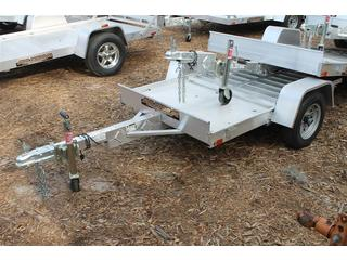 Aluminum Utility Trailer with Tailgate
