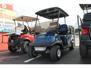 Golf Cart with Tow Tone Seats