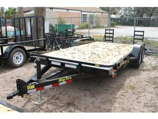 Equipment Trailer with Wood Deck