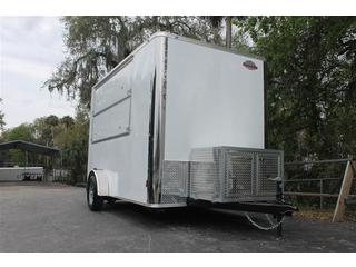 Concession Trailer with Generator Box