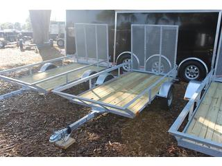 ATV Trailer with Wood Deck