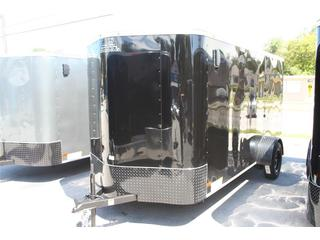 2012 Cargo Mate 6x12' Enclosed S/A Motorcycle Trailer