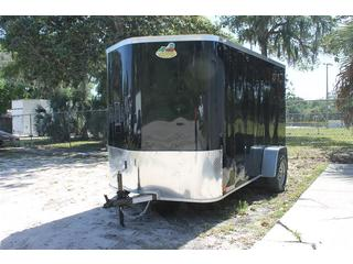 Cargo Trailer with Rounded V-Nose
