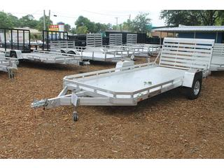 Utility Trailer with Aluminum Tailgate