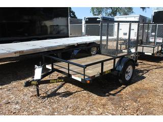 Utility Trailer with Pine Floor