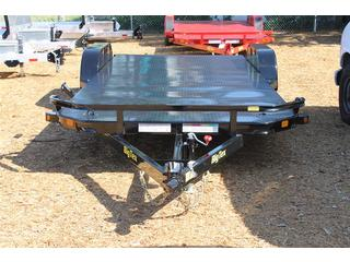 Car Hauler with Diamond Plate Deck