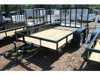 Utility Trailer with Matching Spare