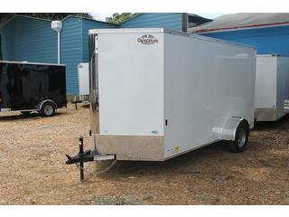 Cargo Trailer with Roof Vent