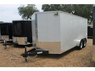 Cargo Trailer with Triple Tube Tongue