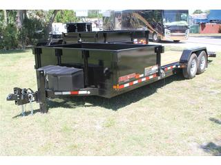 Dump Trailer with Tilt Bed