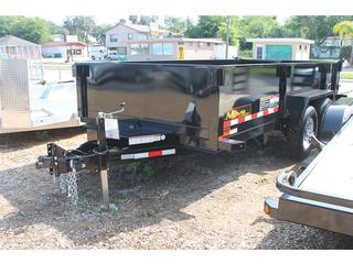 Dump Trailer with 2 Way Double Doors