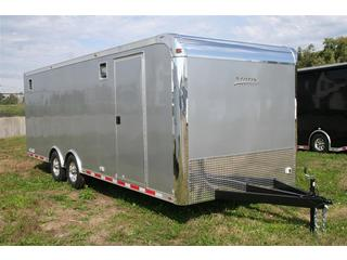 2012 Motiv RSX Enclosed Steel T/A Car Hauler