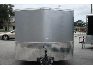2012 Cargo Mate Enclosed T/A Motorcycle Trailer
