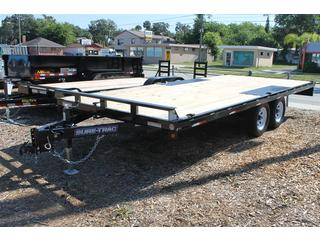 Deck Over Trailer with Slide in Ramps