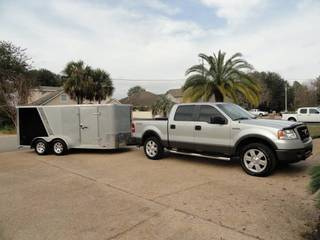2012 Cargo Mate Enclosed 7x14' T/A Motorcycle Trailer