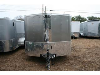 2012 Cargo Mate 7x12' Enclosed T/A Motorcycle Trailer