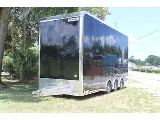 Stacker Trailer with Cabinets