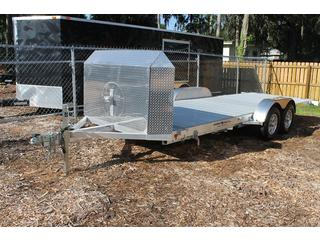 Tilt Bed Trailer with Winch