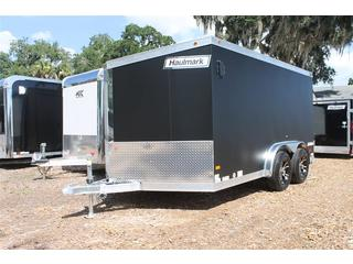 Motorcycle Trailer with Wheel Chocks