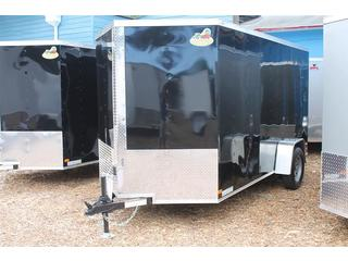 Cargo Trailer with Keyed Entry