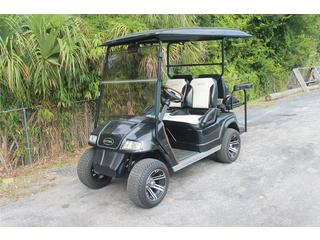 Golf Cart with Custom Leather Seats