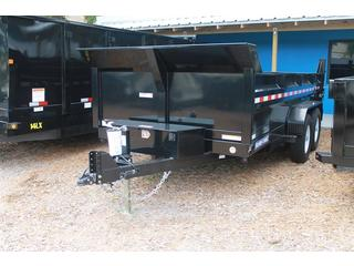 Dump Trailer with Scissor Lift