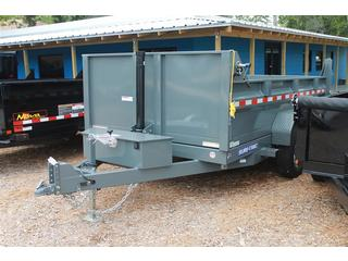 Dump Trailer with Low Profile Sides
