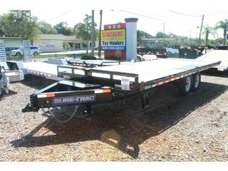 Deck Over Trailer with Tilt Bed