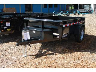 Single Ram Dump Trailer