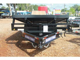 Equipment Trailer with Adjustable Coupler