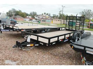 Utility Trailer with HD Ramp