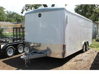 Car Hauler with Keyed Entry Side Door