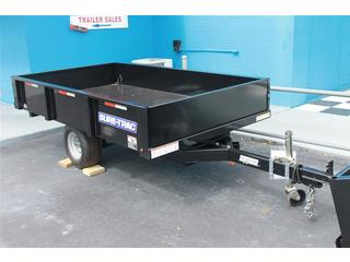 Dump Trailer with Single Ram Hoist