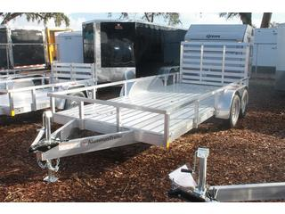 Utility Trailer with Rear Ramp